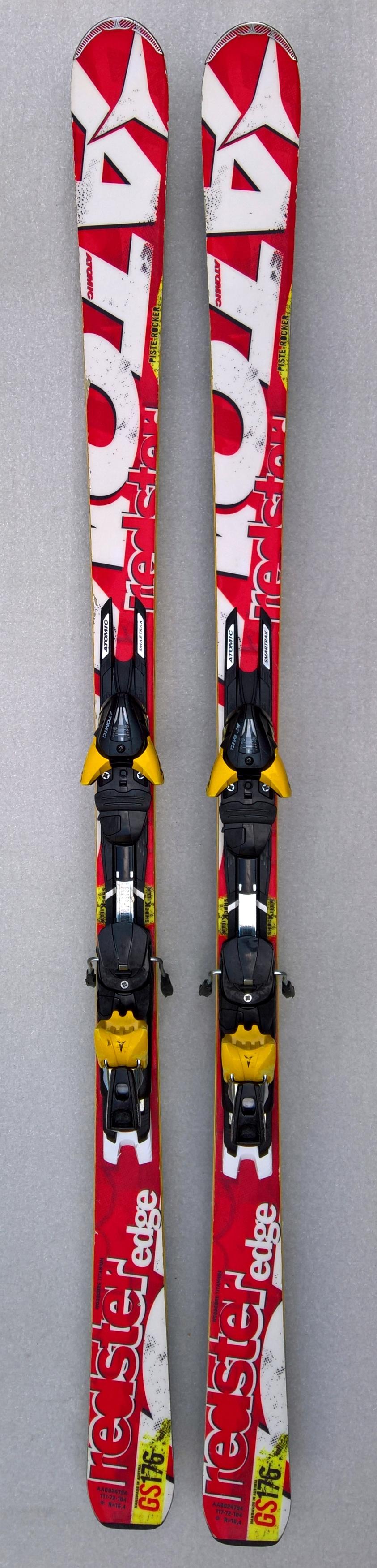 9333036815 Fotografie  použité lyže Atomic redster edge GS
