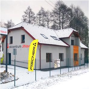 prodejna Skicentra v Jihlavě