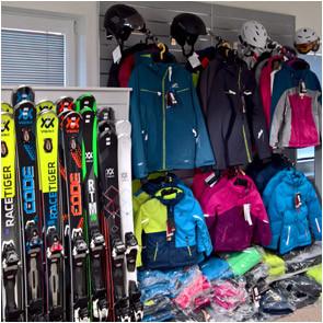 prodejna lyží