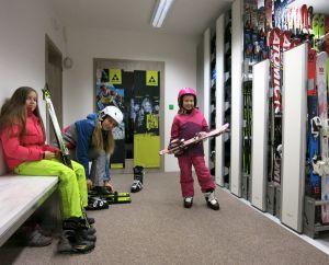 půjčovna lyží v Jihlavě